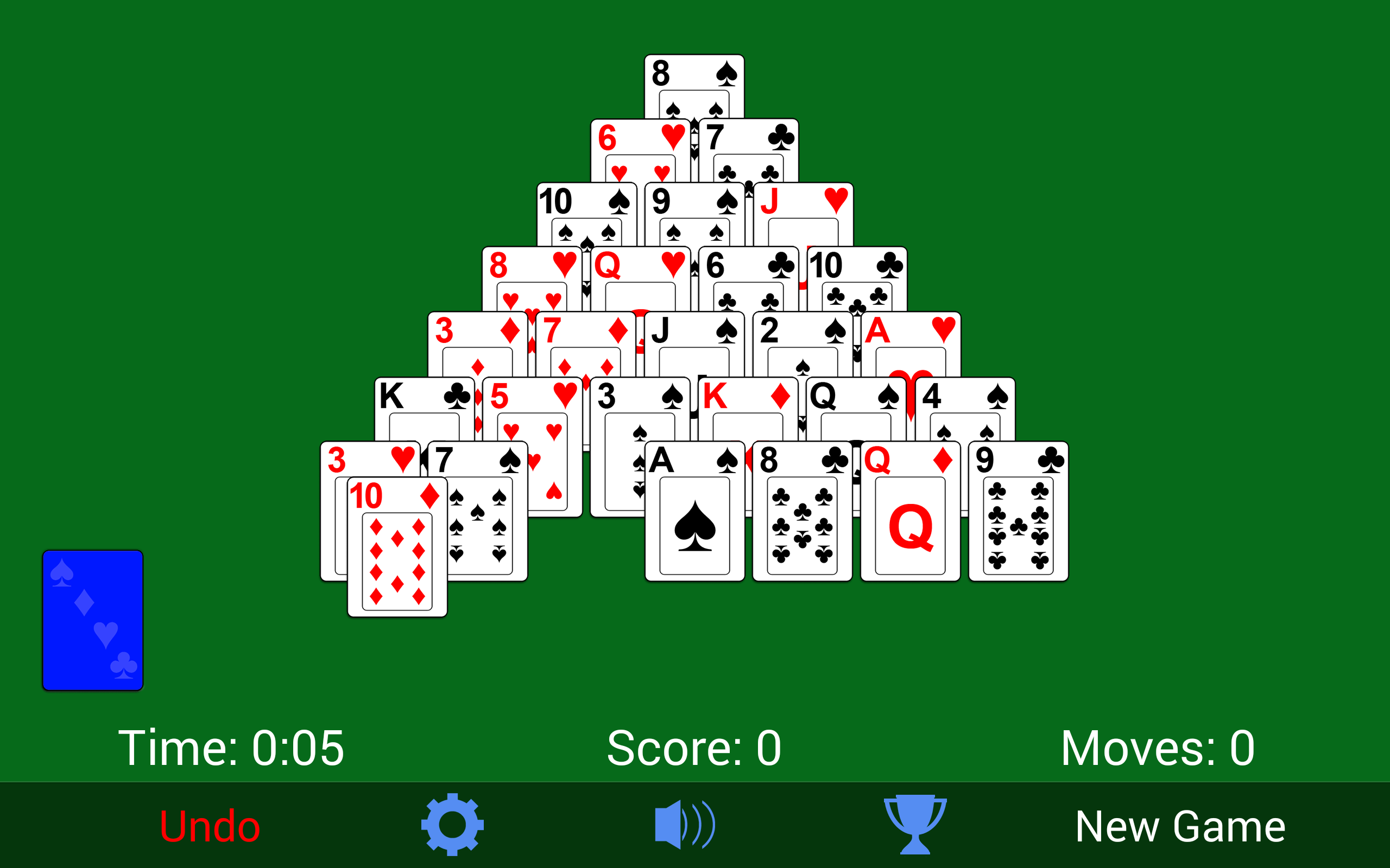 Amazon Com Pyramid Solitaire Appstore For Android