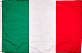 product image for Annin Flagmakers Model 194000 Italy Flag Nylon SolarGuard NYL-Glo, 4x6 ft, 100% Made in USA to Official United Nations Design Specifications