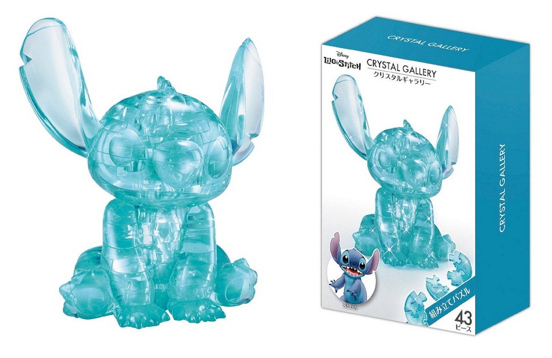 Hanayama Disney Crystal Gallery Hawaiian Blue Stitch 3D Puzzle (43 Piece) by Crystal Gallery