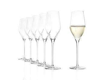 Glas & Kristall 6  Kristall Sektgläser Kristallgläser Champagner Prosecco Champagnerkelch Antiquitäten & Kunst