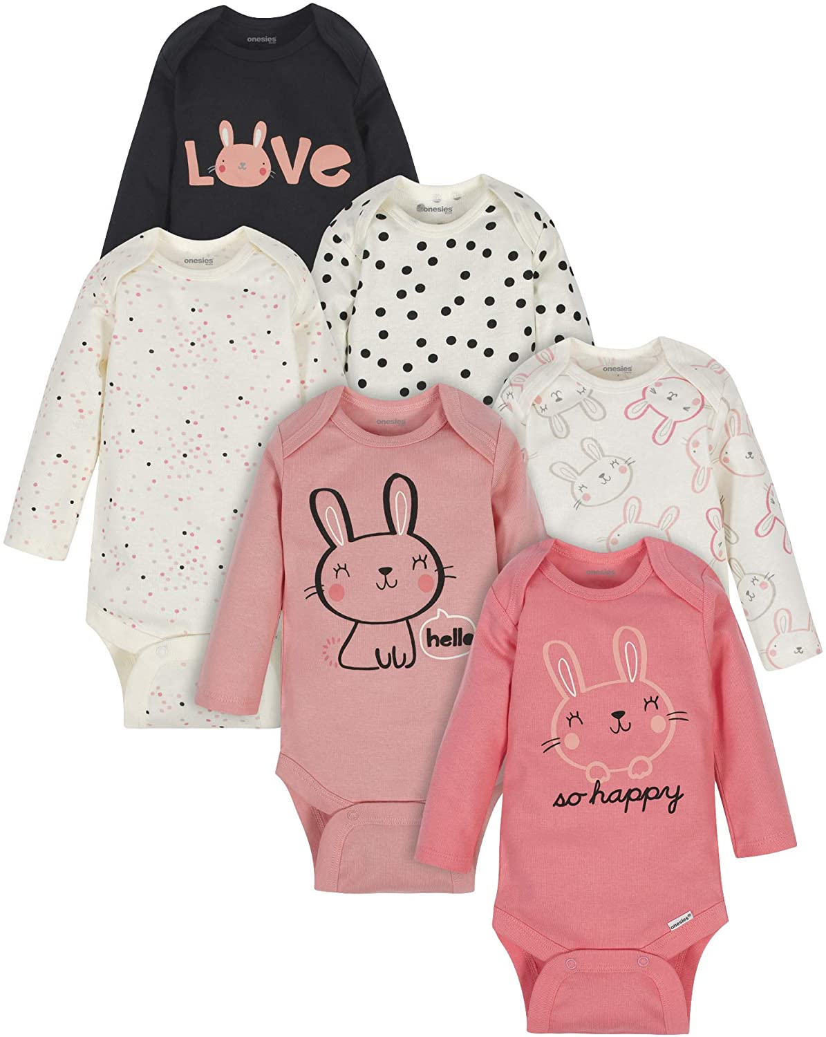 Cute girl onesie shearling pocket  onesie pink lightning bolt  baby clothes with lightning  boho baby onesie with pocket