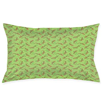Amazon.com: YABABY Funda de almohada, ilustración de ...