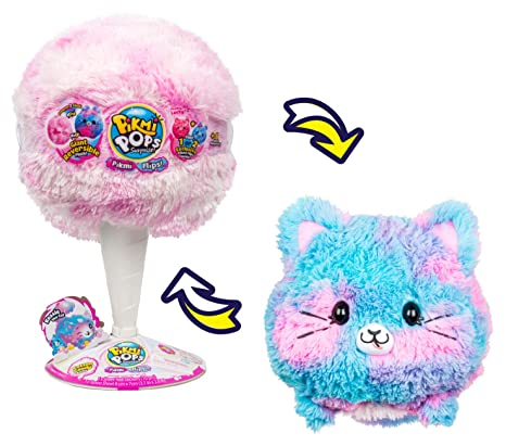 23c2adcdb Amazon.com  Pikmi Pops Giant Flips – Kessie The Cat  Toys   Games