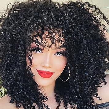 Damen Perucke Rosennie 55cm Einstellbare Farbverlauf Haarschnitt