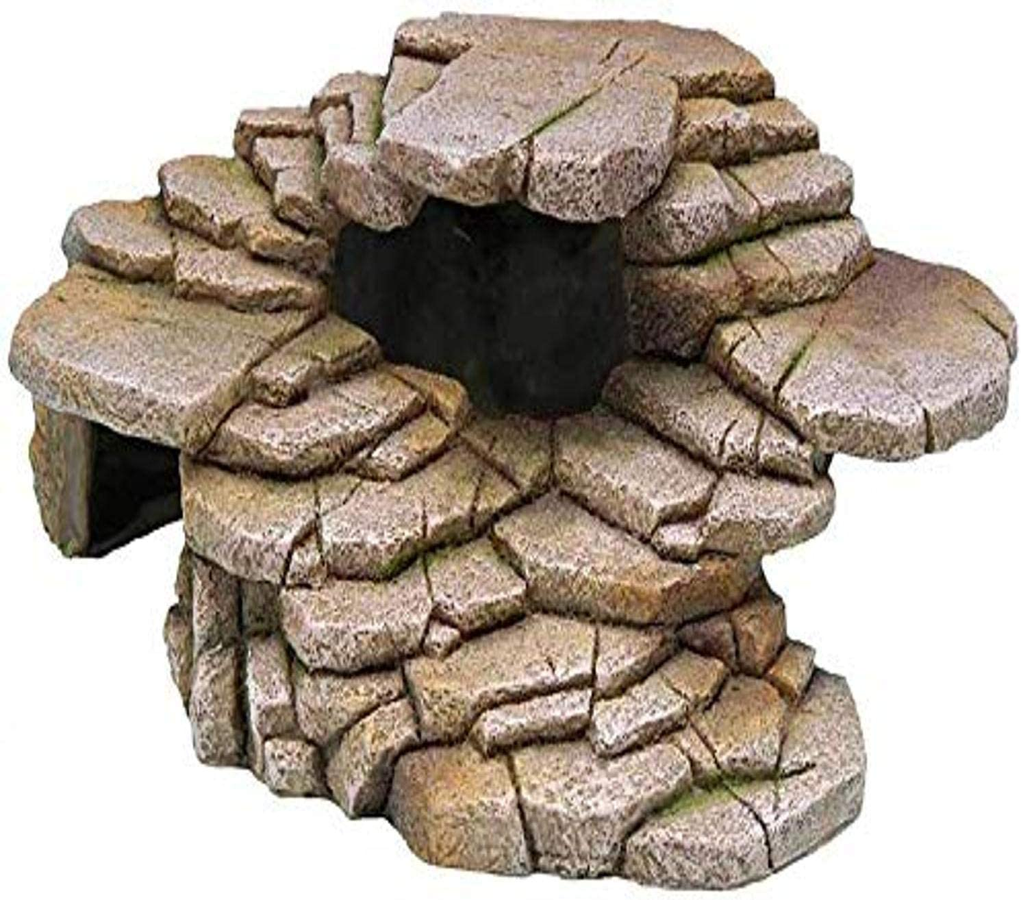 Penn-Plax Reptology Shale Step Ledge for Aquariums & Terrariums