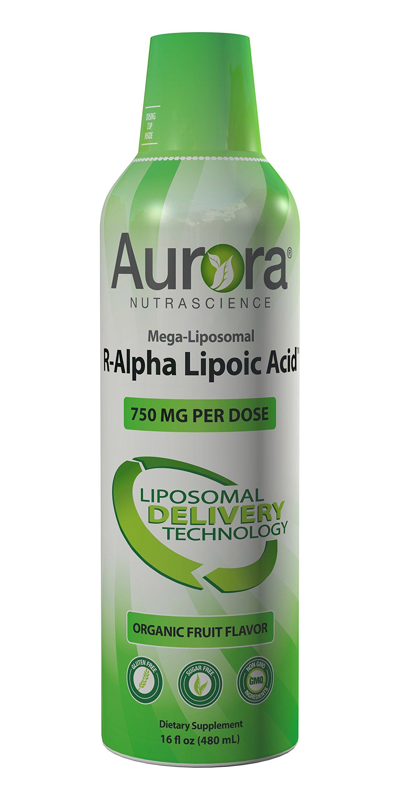 Aurora Nutrascience Mega Liposomal R-Alpha Lipoic Acid 16 oz