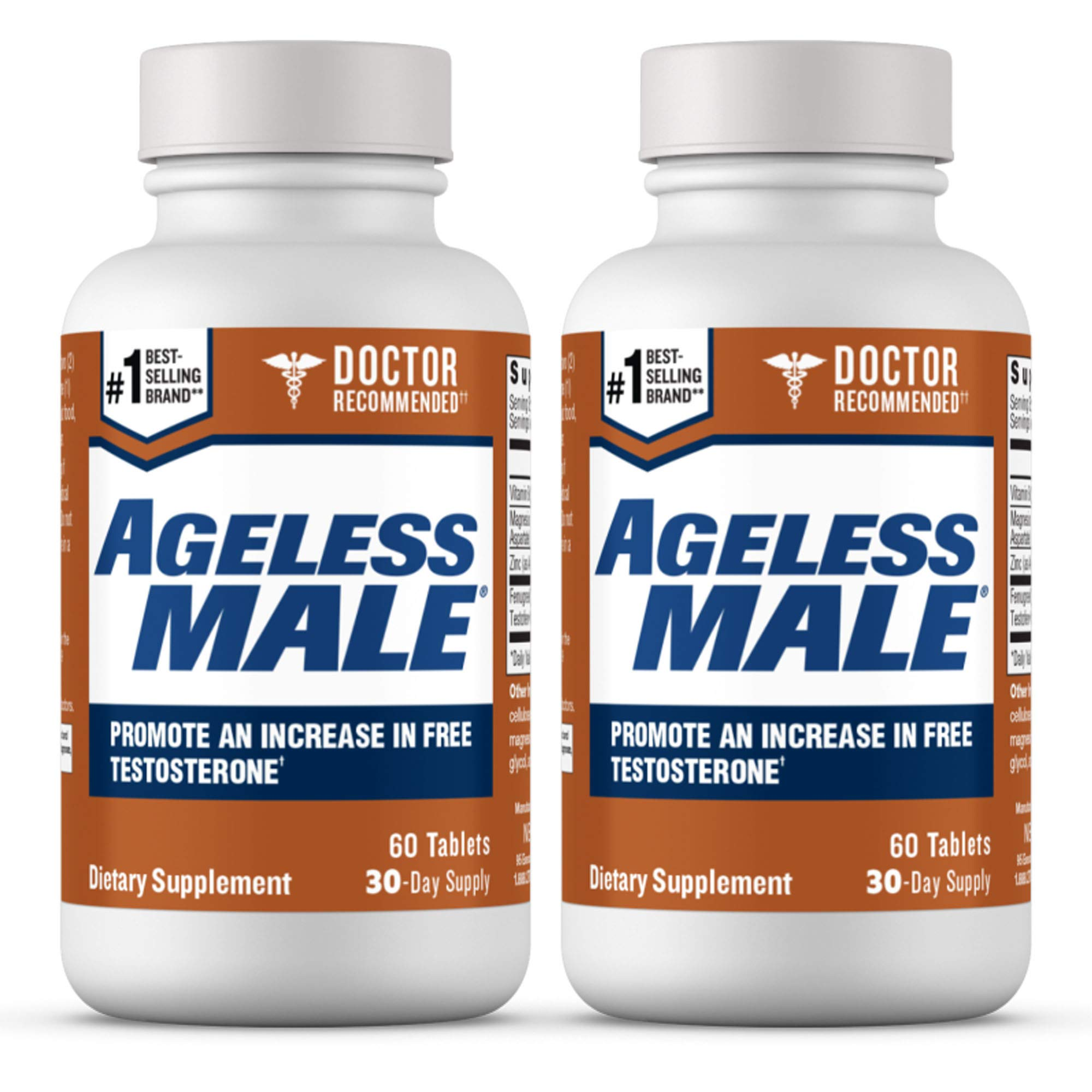 Ageless Male Free Testosterone Booster