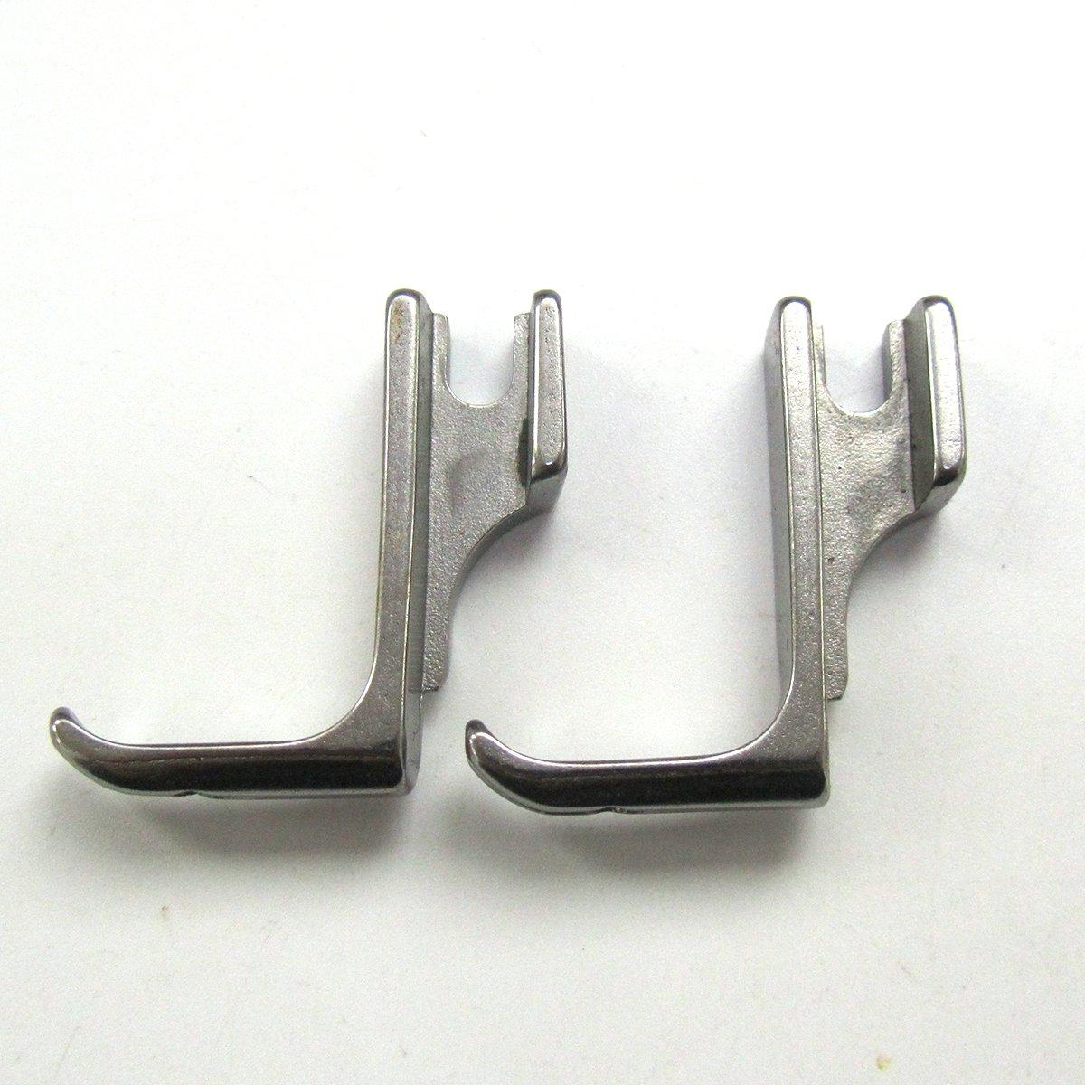 kunpeng pie prensatelas con largo de terciopelo - Puntera Para alta vástago máquina de coser # s531l (2 pcs): Amazon.es: Hogar