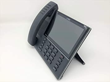 Mitel MiVoice 6940 - Teléfono IP (Negro, Terminal inalámbrico, 10 m, LCD, 800 x 480 Pixeles, 17,8 cm (7