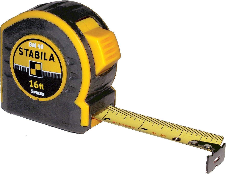Stabila 30416 Type BM40 5m//16 Tape Measure