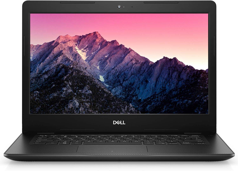 Dell Inspiron 14 HD High Performance Laptop (2021 Latest Model), Intel Core i3-1005G1 Processor, 8GB RAM, 256GB SSD, Webcam, HDMI, Bluetooth, WiFi, USB 3.1, Wave MaxxAudio Pro, Windows 10 S, Black