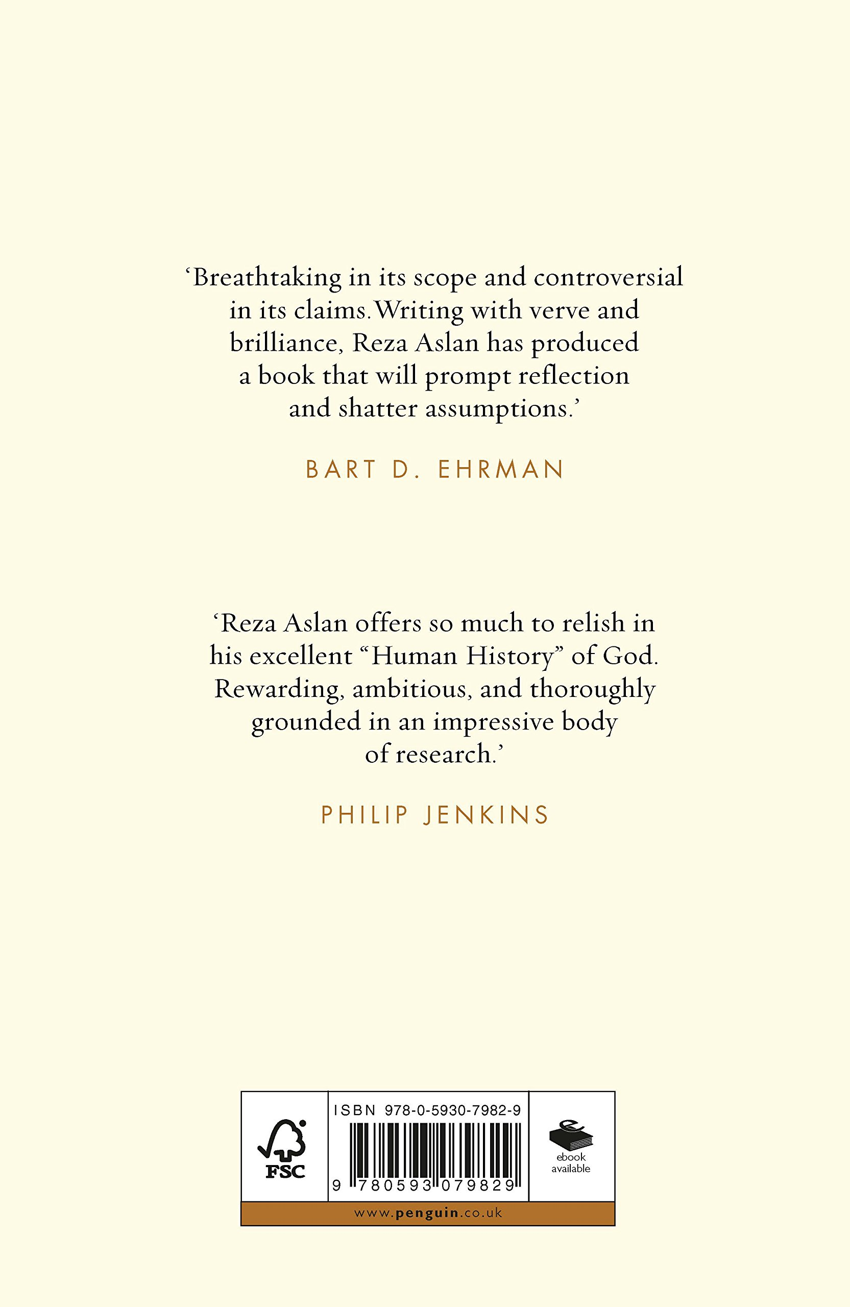 God A Human History Amazon Reza Aslan Books