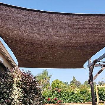 ALGFree - Sombra de Tela para toldo de pérgola con protección UV para Plantas de jardín con Arandelas y 11 tamaños: Amazon.es: Jardín