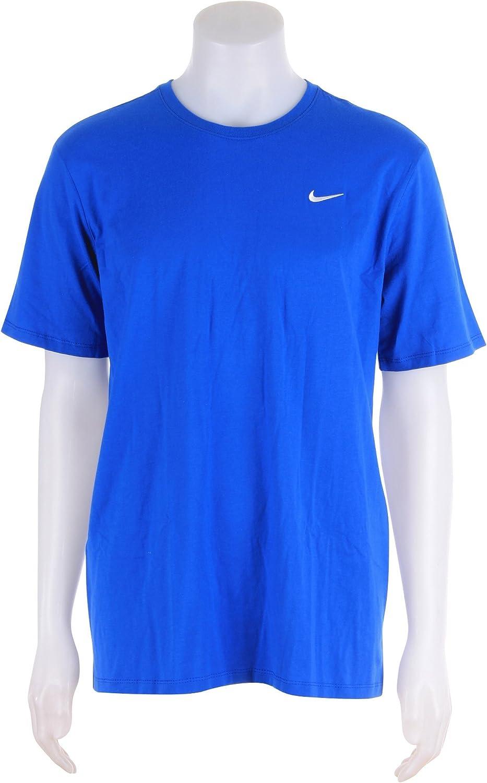 Nike Mens Swoosh Cotton Crew T-Shirt