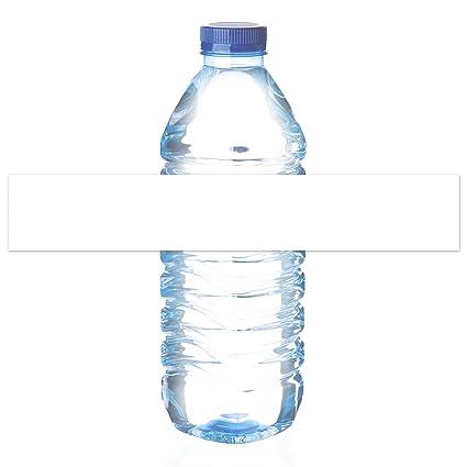 Mr-Label Etiquetas de botellas de agua a prueba de agua - para ...