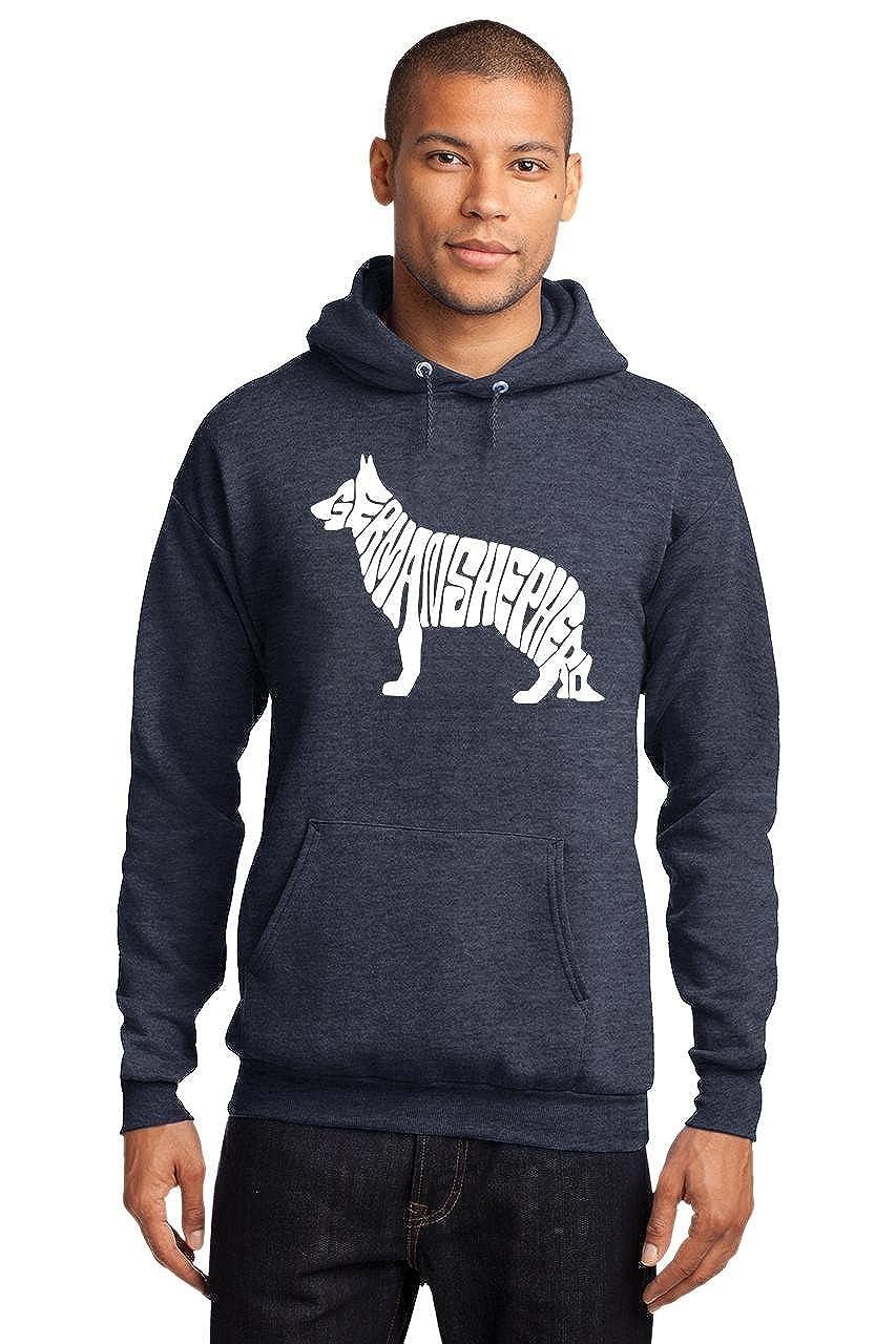Comical Shirt Mens German Shepherd Hoodie
