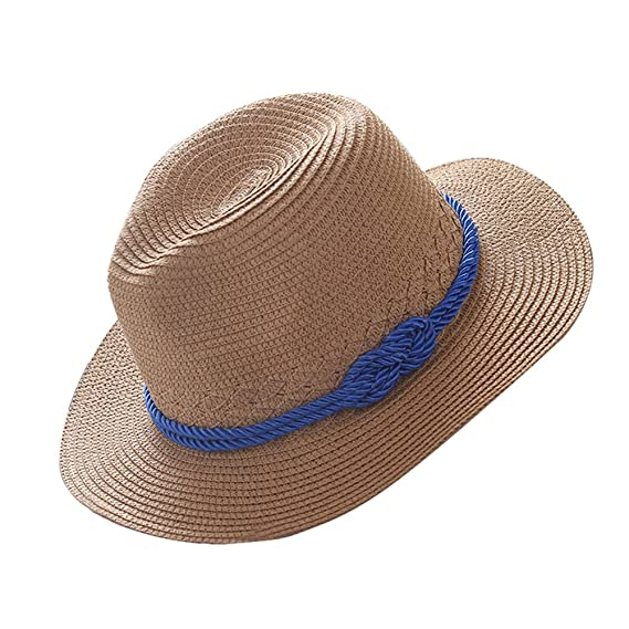 LAMEIDA Gorro de visera Sombrero de paja Sombrero de visera Sombrero de sol  Sombrero plegable Ajustador b65e48fffbe