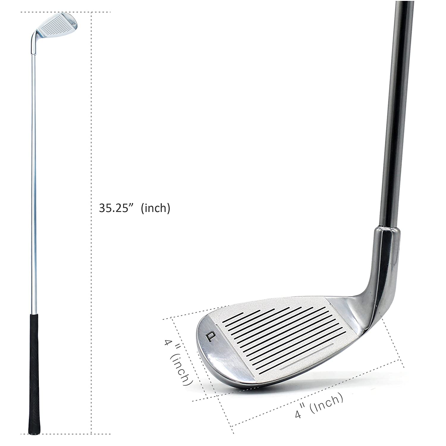 Amazon.com: gooftec # 5 de golf hierro Club, 27 grados para ...