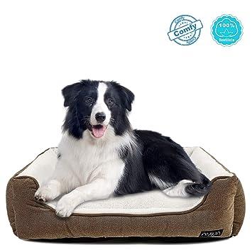Amazon.com: ANWA Cama de perro para mascotas duradera ...