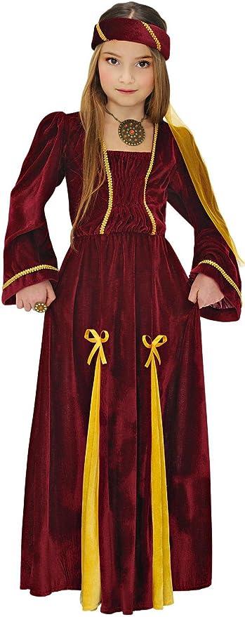 Bambine Medievale Tudor Regina Costume