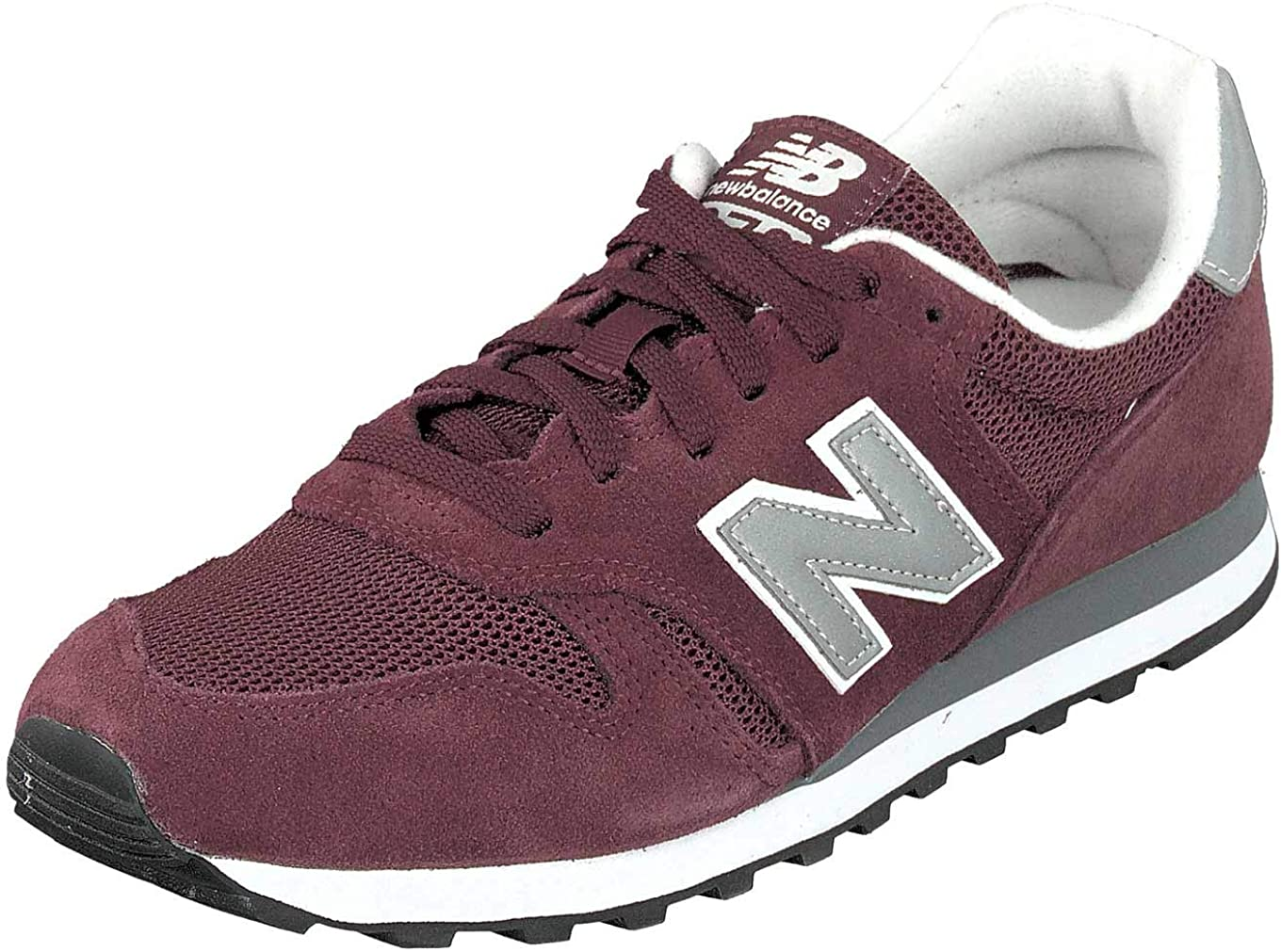 New Balance ML373 Men's Low Sneaker Red: Amazon.co.uk: Shoes & Bags