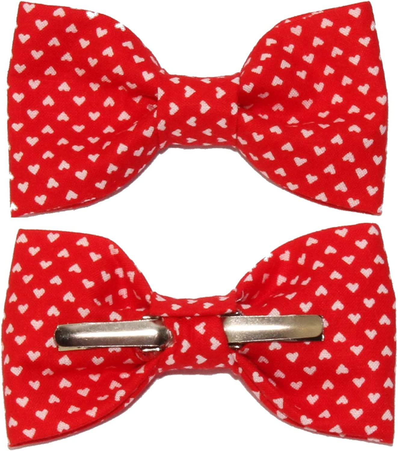 Toddler Boy 4T 5T Peony Pink Clip On Cotton Bow Tie Made In The USA