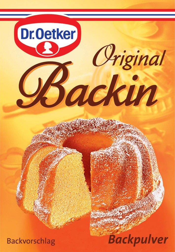 Dr. Oetker - Original Backin Baking Powder (Original Backin Backpulver)   Total Weight 160 Grams