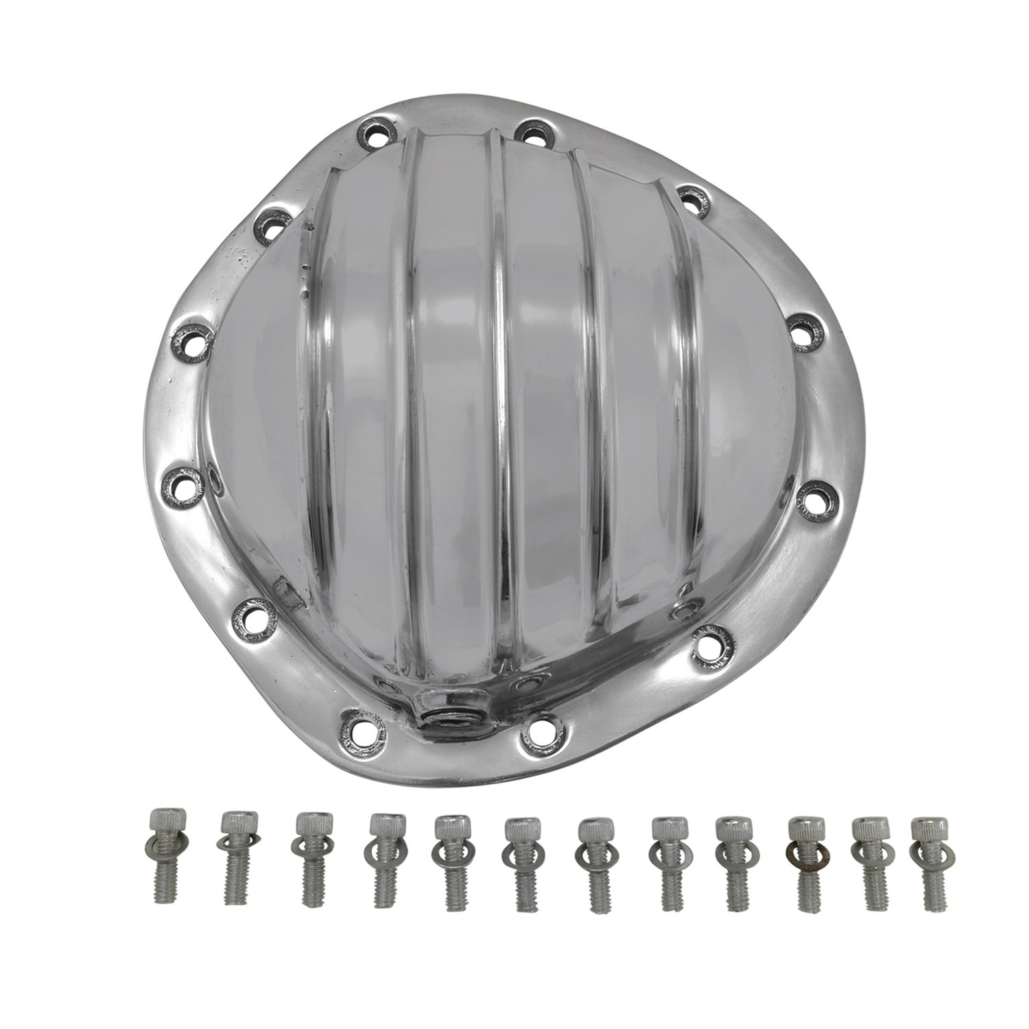 Yukon (YP C2-GM12T) Polished Aluminum Cover for GM 12-Bolt Truck Differential