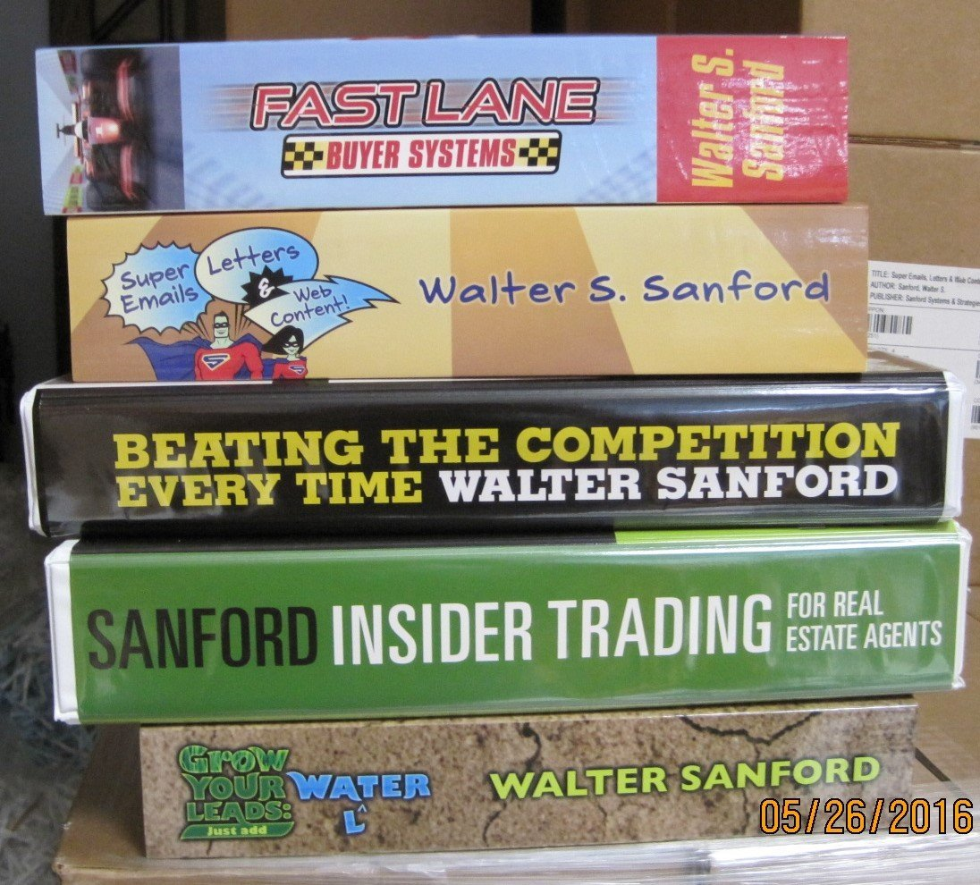Download Walter Sanford Famous Five Pack Real Estate Training Manuals pdf