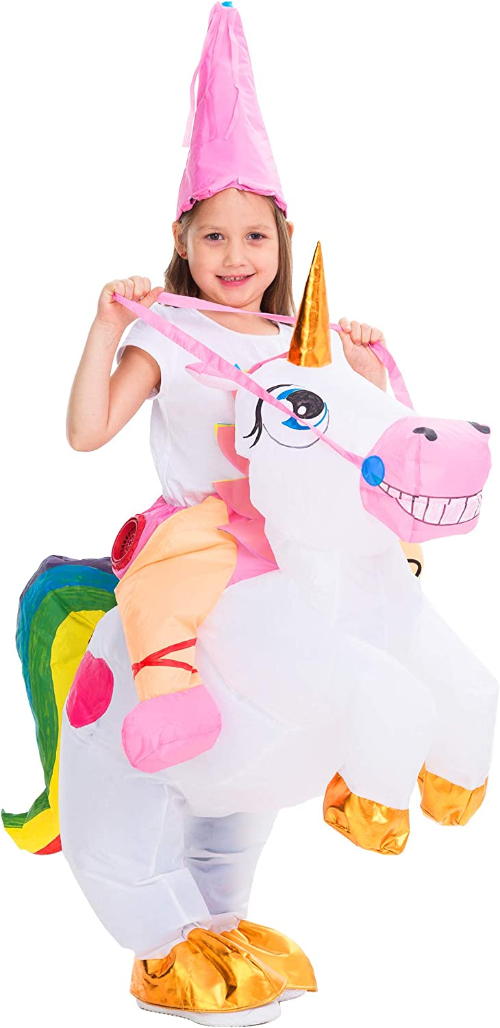 Unicorn Inflatable Costume Adult Cosplay Costumes Blow up Halloween Costumes