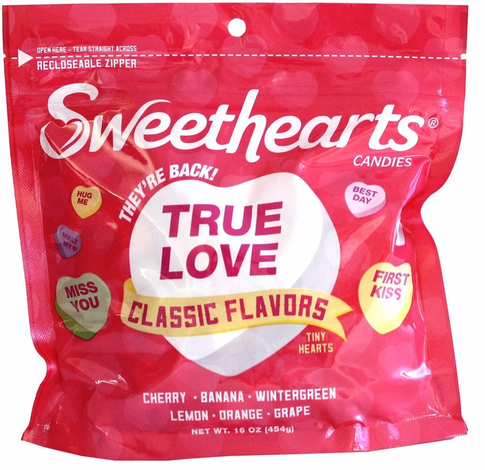 Sweethearts Candies, Classic Flavors, 16 oz