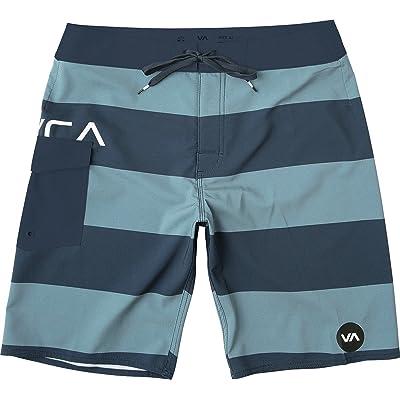 "RVCA Men's Uncivil 20"" Boardshort: Clothing"