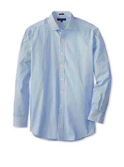 Tommy Hilfiger 100 % Cotton LS Slim Fit Non Iron Men s Dress Shirt Blue -  14.5 d9e95abedd1e