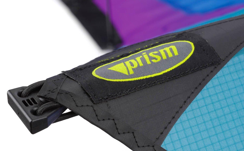 Prism Hypnotist Dual Line Framed Stunt Kite with 75' Tube Tail Bundle (3 Items) + Prism 75ft Tube Tail + WindBone Kiteboarding Lifestyle Stickers + Key Fob (Fire) by Prism, WindBone (Image #8)