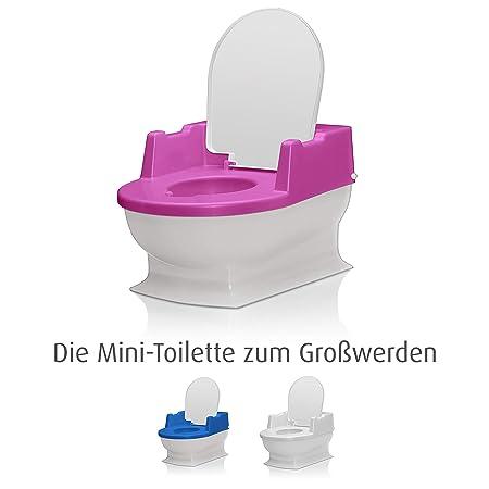 Ergonomisch Geformt Baby Toilettensitz ZOOTUI/® Plastik Toilettensitz Toiletten-Sitz F/ür Kinder Sicher Und Bequem Mit Spritzschutz,Abnehmbar,Stark Und Robust,Einfach Zu S/äubern,Blau