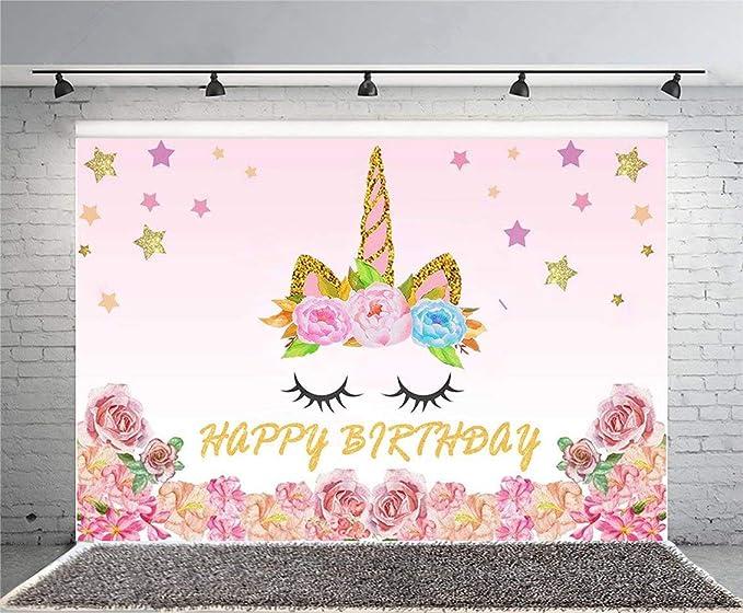 unicorn party background