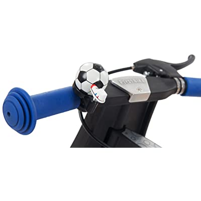 FirstBIKE Soccer Bell, Black and White: Toys & Games