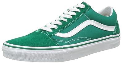 bd098f5c84 Vans Old Skool Suede Skate Shoes Ultramarine Green True White