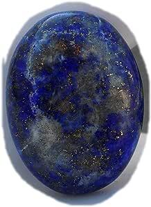The Best Jewellery Lapis Lazuli cabochon, 31Ct Lapis Lazuli Gemstone, Oval Shape Cabochon For Jewelry Making (26x19x6mm) SKU-15119
