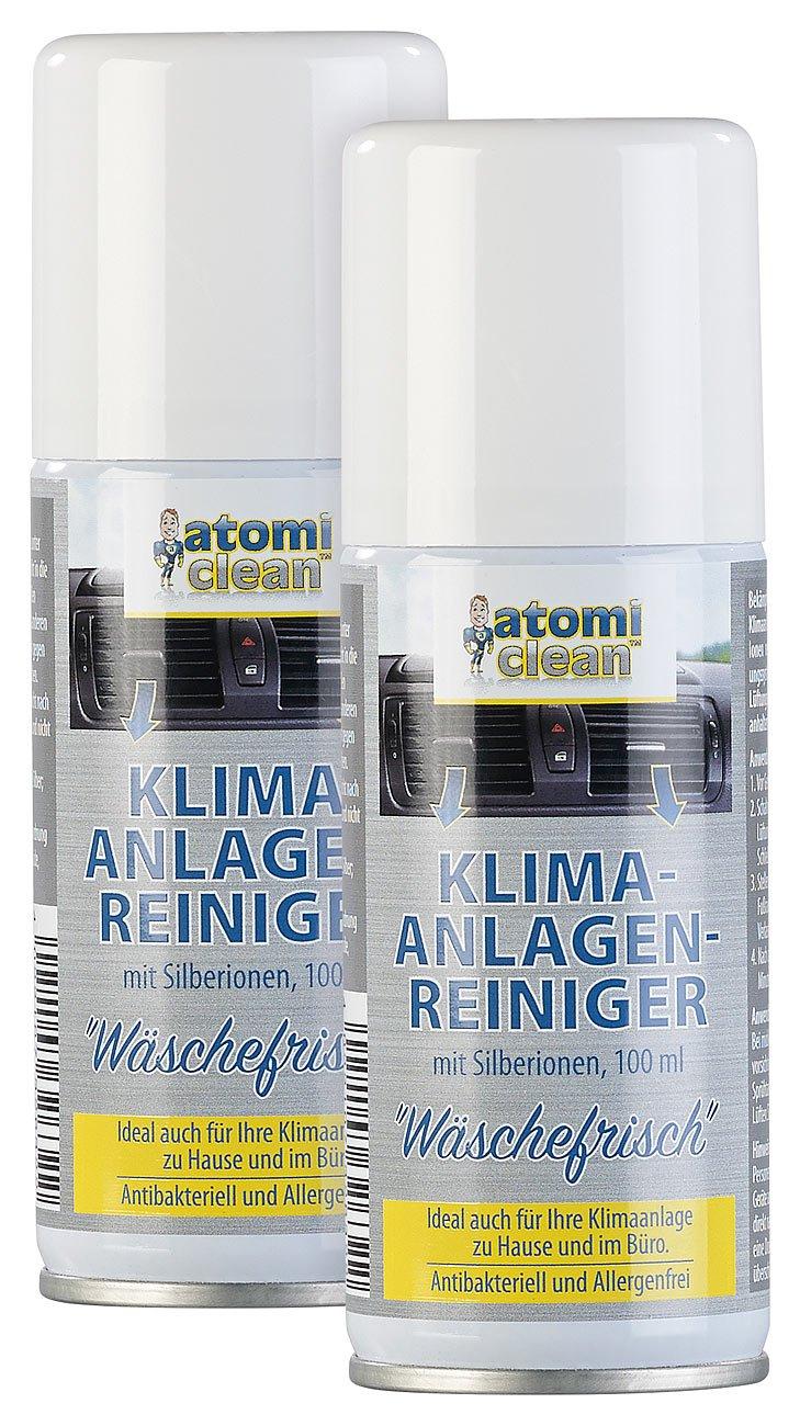AtomiClean Reiniger-Spray: 2er-Set Klimaanlagenreiniger Wäschefrisch ...