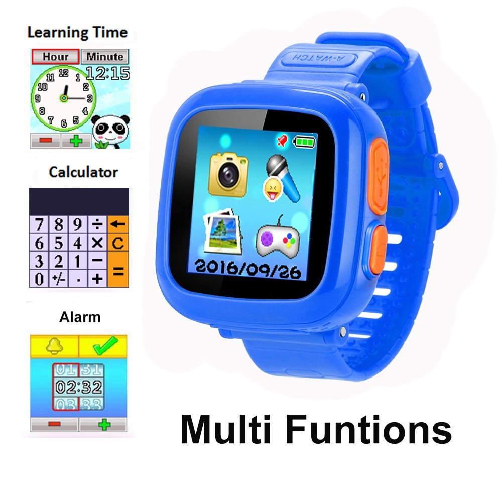 YNCTE Smart Watch for Kids with Digital Camera Games Touch Screen, Cool Toys Watch Gifts for Girls Boys Children by YNCTE (Image #3)