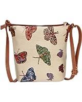 Signare Tapestry Sling Style Cross-body Satchel Bag
