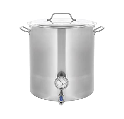 Amazoncom Concord Stainless Steel Home Brew Kettle Stock Pot