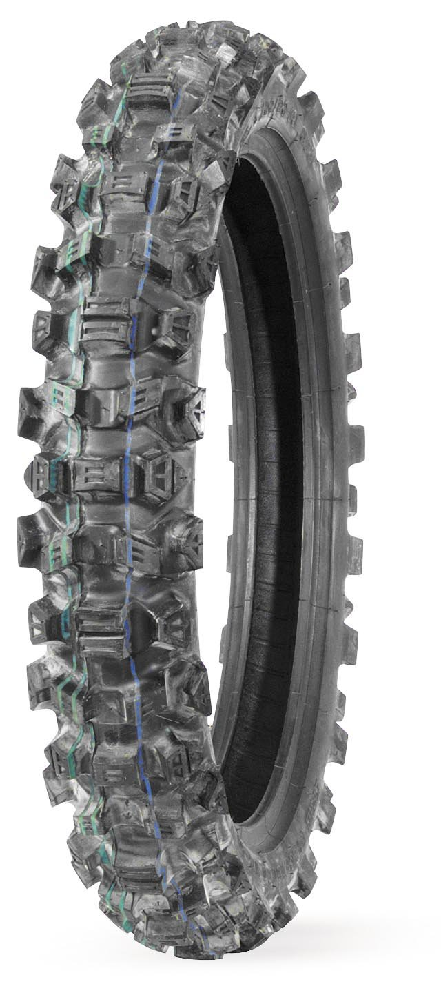 IRC Volcanduro VE40 Tire - Rear - 100/100-18 , Position: Rear, Tire Size: 100/100-18, Rim Size: 18, Load Rating: 59, Speed Rating: M, Tire Type: Offroad, Tire Application: Intermediate VE40 4333046072