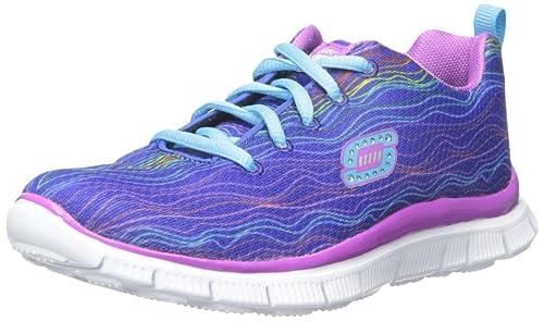 Skechers SKECH APPEAL- PRANCY DANCE, Zapatillas de Deporte, Niñas, Azul (Blpr), 28: Amazon.es: Zapatos y complementos