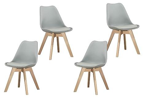 Amazon.com: Best Master Furniture - Juego de 2 sillas de ...