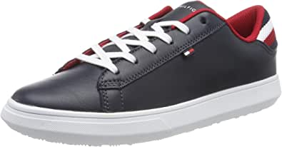 Tommy Hilfiger Essential Leather Detail Cupsole