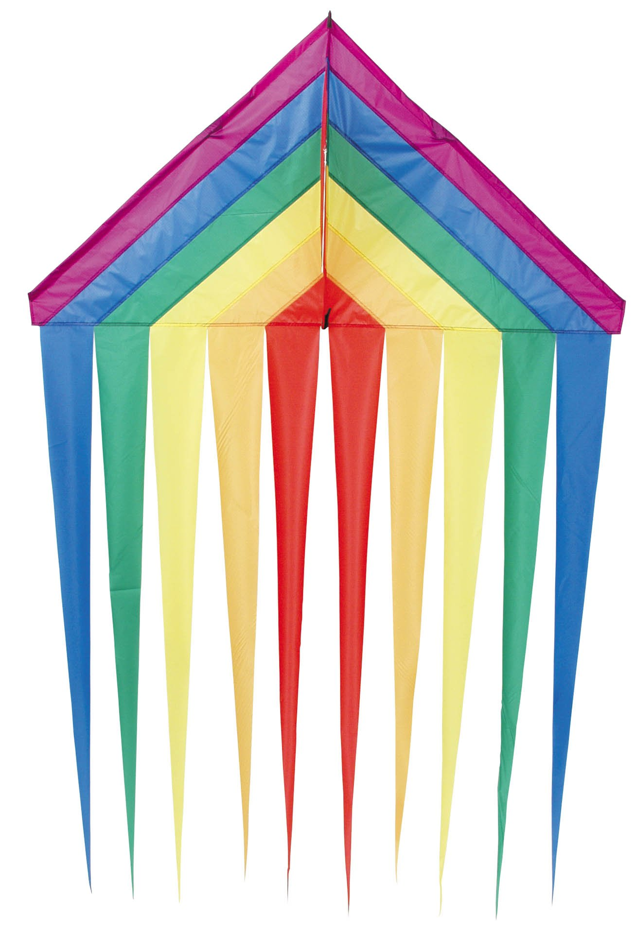HQ Delta Kite (53-Inch Rainbow)