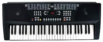 Set de teclado FunKey 54 con fuente de alimentación y atril de partituras