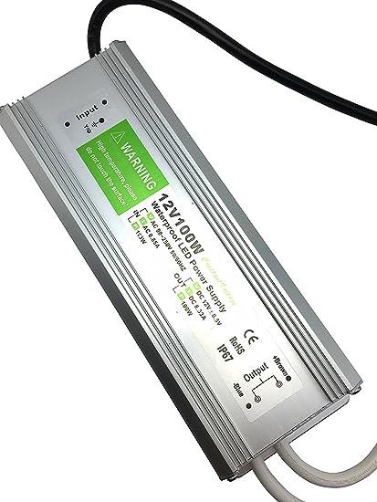 amazon com pearlight dc 12v adapter,led power supply driver